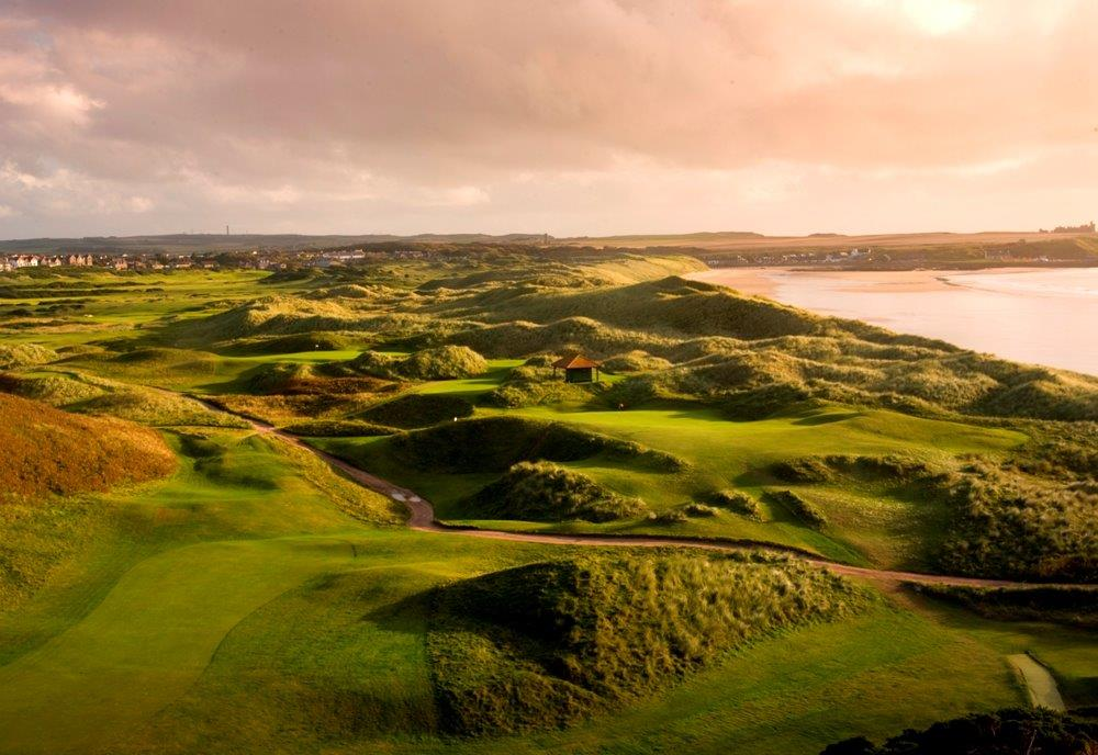 Campo de golf de Trump International en Aberdeen, Escocia