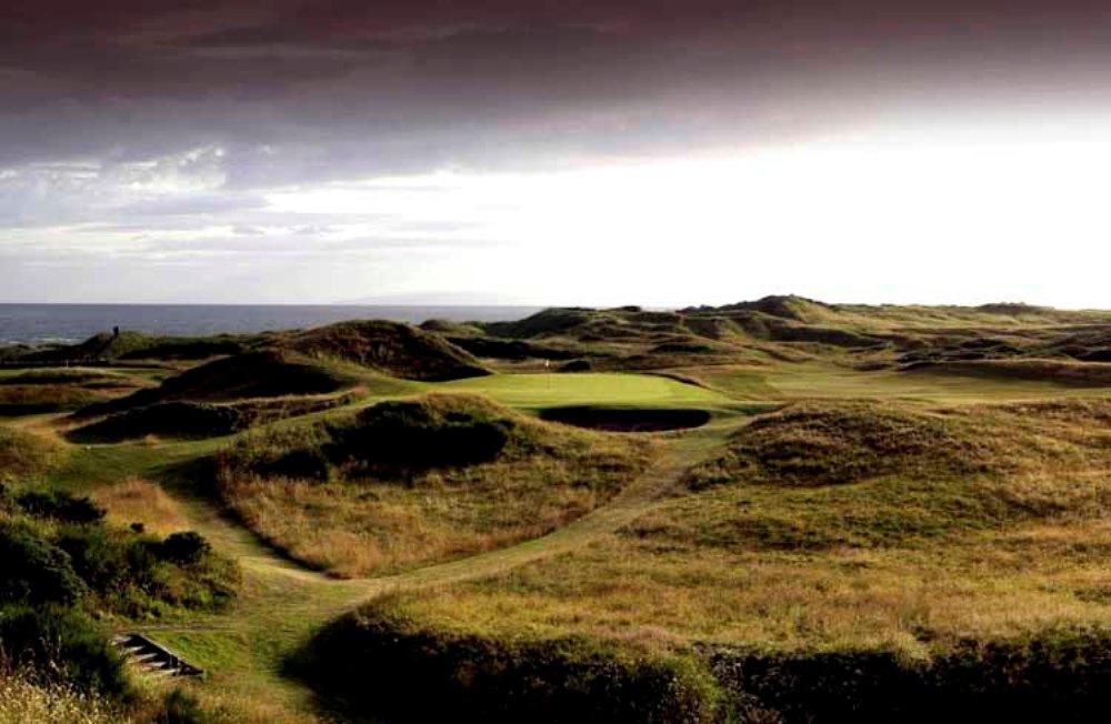 Campo de golf de Royal Troon 'Old Course' en Escocia