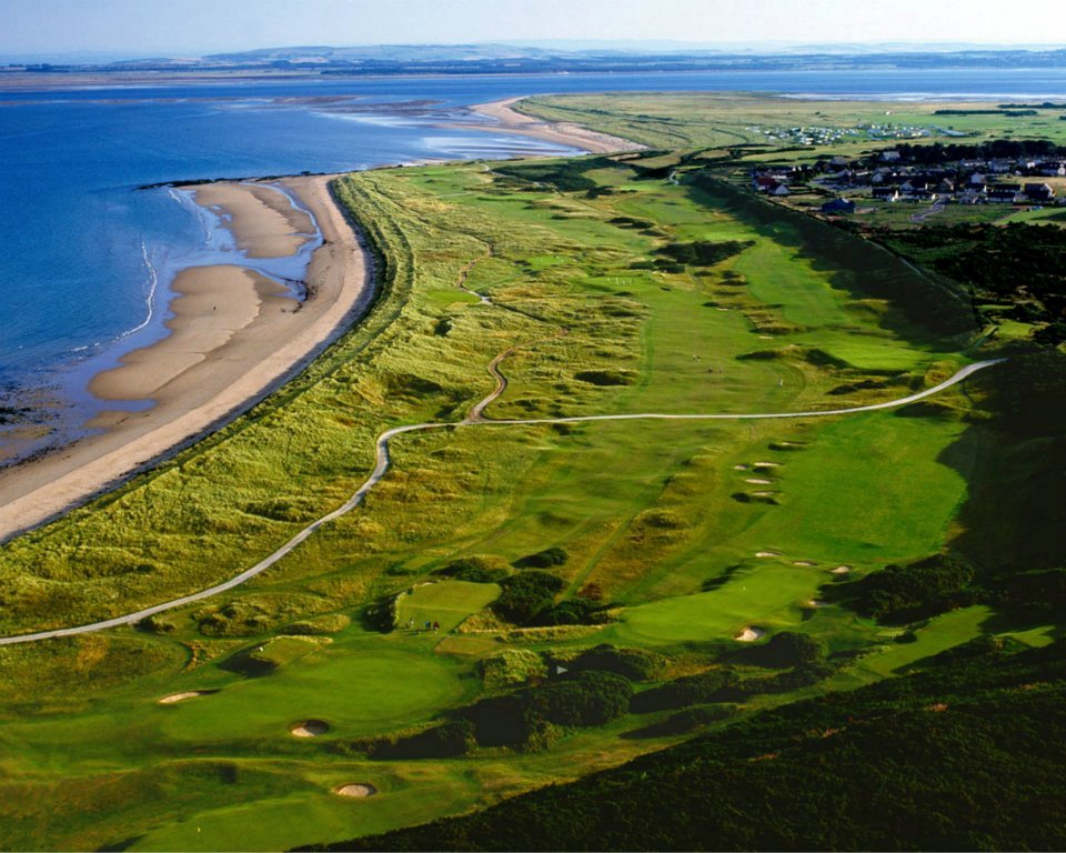 Campo de golf de Royal Donorch en Escocia
