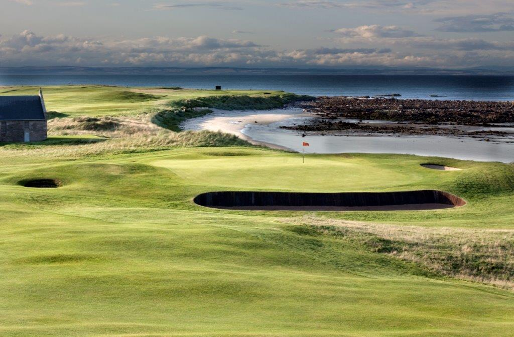 Crail Balcomie Golf Schottland Green