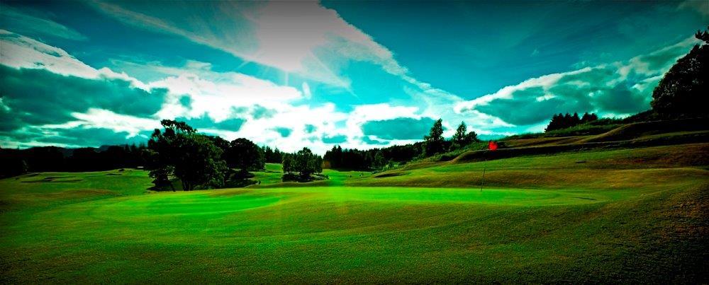 Campo de golf de Pitlochry en Escocia