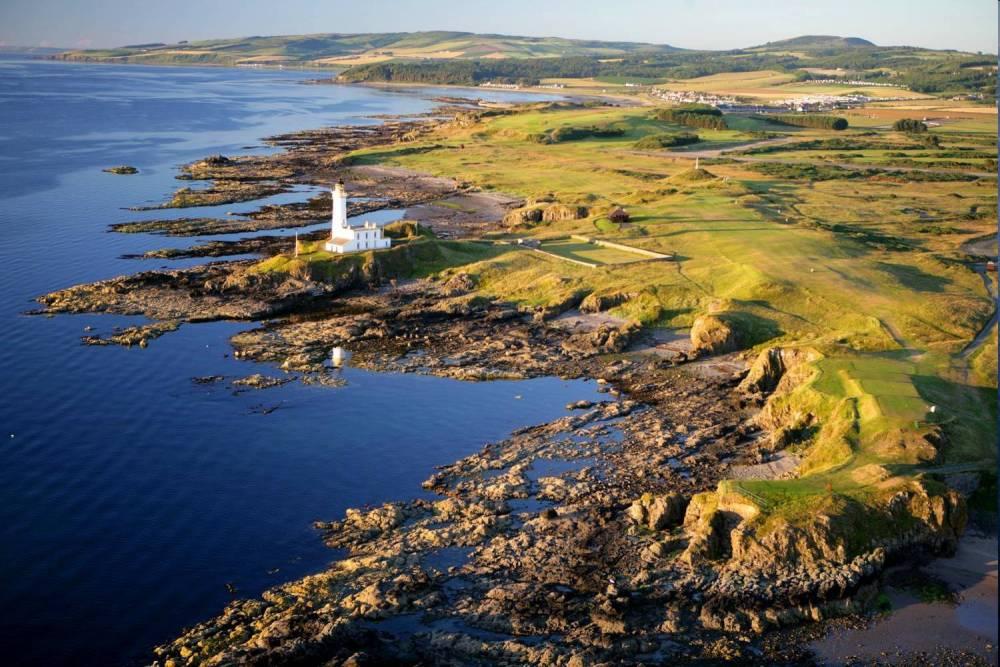 Campo de golf de Tunberry 'Ailsa' en Escocia