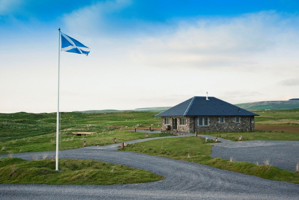 Campo de golf de Machrihanish Dunes en Escocia