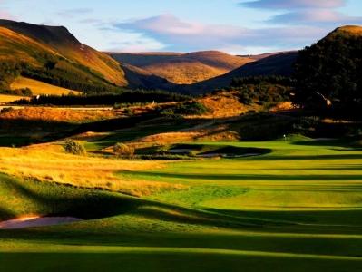 Campo de golf de Gleneagles (PGA) en Escocia