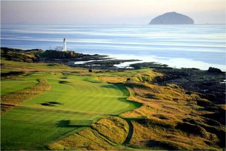 Campo de golf de Turnberry (Ailsa) en Escocia