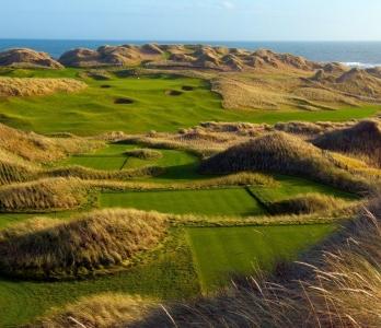 Campo de golf de Trump International de Aberdeen en Escocia