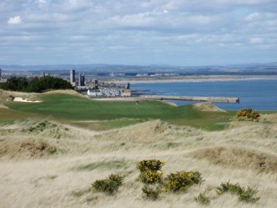 Campo de golf de Castle Course en Escocia