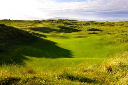 Campo de golf de Machrie en Escocia