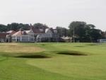 Muirfield 18t golf escossia
