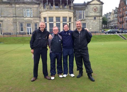 Nada que objetar. Golf en Escocia
