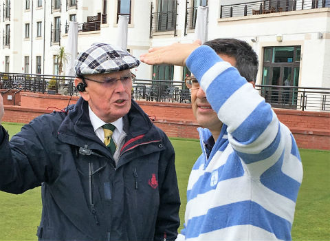 Gracias por vuestra amabilidad. Golf en Escocia