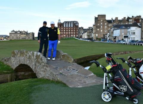 excelente servicio, el equipo de golf travelers fue muy cortés.