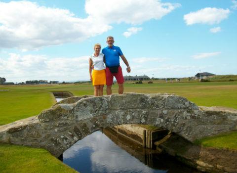 tuvimos un excelente fin de semana de golf, hay que decirlo, un gran momento.