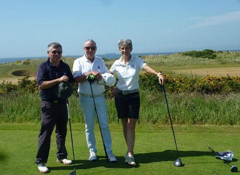 hermosos campos de golf y un magnífico alojamiento en sandhill house.