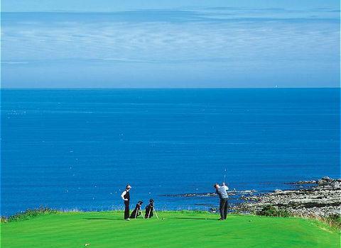 buenos campos de golf y organización perfecta, nos encantó nuestra pequeña escapada a escocia